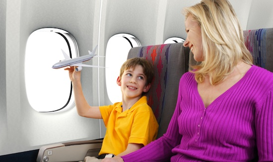 A Child's First Flight: Getting Their Brain to Enjoy the Flying Game