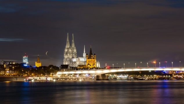 Spectacular panorama in Cologne