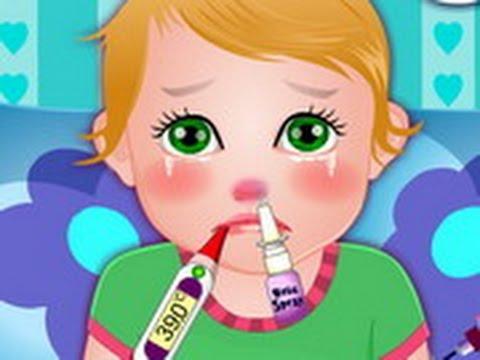 kids with flu