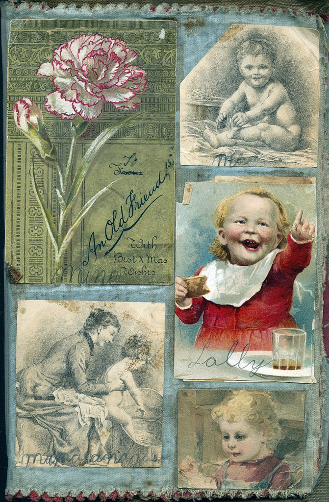 Victorian Child's Scrapbook.